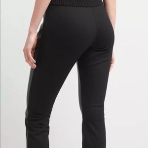 3621aae6494bc GAP Pants | Womens Faux Leatherfront Leggings Size L | Poshmark